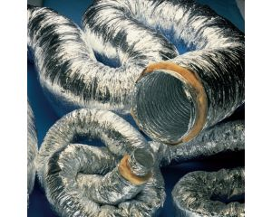 100mm Aluminium Insulated Flexible Ducting 10M Boxed Acoustic