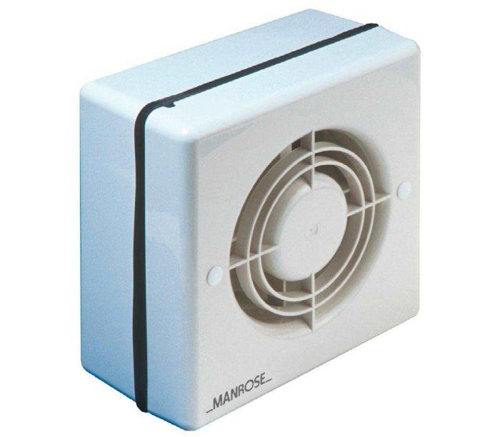 12v Low Voltage Window Extractor Fan Manrose 150mm 6 Sfhs Org