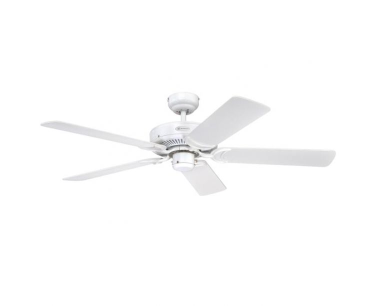Westinghouse Monarch 48 White Ceiling Fan White Cane Blades Fastlec Co Uk