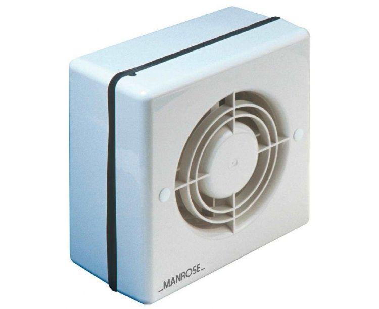 Manrose 4 12v Bathroom Shower Extractor Fan Window Low Voltage Model Fastlec Co Uk