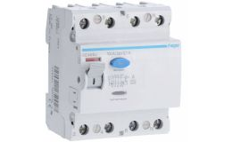 Hager CE485J RCCB 4P Type A 100A 100mA RCD