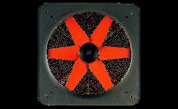Vortice E254T 4 Pole Plate Axial Fan 256mm Low Pressure