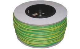 ES2-R Sleeving 2mm Green/Yellow ( REEL )