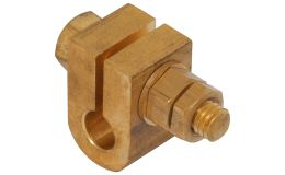 NC38 Earth Rod Clamp 3/8in Cable to Rod Premium