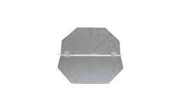 710mm cowl back draught shutter