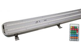 Bell Lighting Dura LED Anti Corrosive Batten with Microwave Sensor + Corridor Dim Function Emergency 3 hour maintained