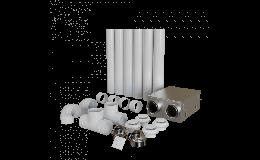 Blauberg Heat Recovery MVHR Kit Small Apartments