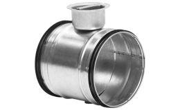 400mm partial shut off valve damper