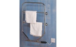 Dimplex TTRC130W 80W Oil Filled Electric Towel Rail Chrome