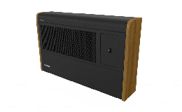 Dimplex Black Wall Convector Heater 3kW with Bluetooth