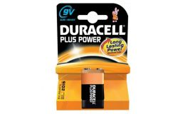 Duracell Plus MN1604 Alkaline 9V Battery Pack