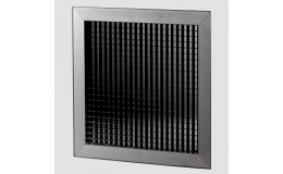 595mm internal egg crate ceiling tile grille (white)