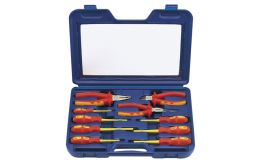 Draper 10pc Insulated Pliers and Screwdriver Set