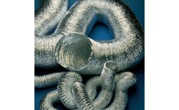 FXAL100/10 100mm aluminium flexible duct 10m