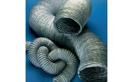 Vinyl flexible ducting 80mm x 6m length