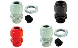 Wiska GLP M20+RDE 20mm Cable Glands with Reduction Sealing Insert & L/nuts IP68