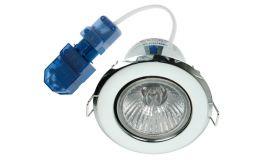 Click Flameguard Mains GU10 Fixed Downlights c/w CT100C