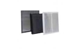 300mm x 300mm intumescent door grille set