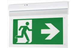 JCC Exit Blade LED Emergency Exit Sign Ceiling Or Wall