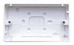 MK 2Gang 16Mm Surface Box K2161 WHI
