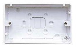MK 2Gang 30Mm Surface Box K2142 WHI