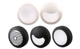 Click Inceptor-Evo Multi-Facia LED Bulkheads with Emergency & Sensor Options