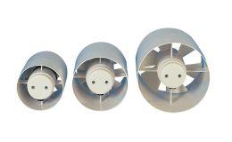 Manrose 100mm Inline In Duct Axial Fan Standard