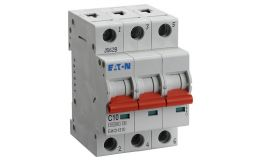 40A EMCH340 Triple Pole 10/15kA MCB C Curve Memshield 3