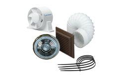 Monsoon Axial 100mm Vent Light Fan Kit