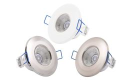 Click Inceptor Nano LED Fixed Dimmable Recessed Ceiling Downlights IP65