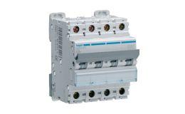 Hager MCB 4P 10kA Type C 63A 4M