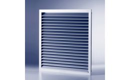 Non vision door set grille 250mm