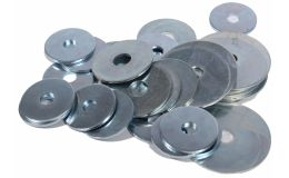 Penny Washers Metric Zinc Plated Boxed in 100s