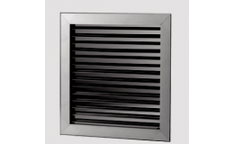 Single deflection grille 250mm