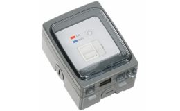 Timeguard Wi-Fi Controlled IP66 Fused Spur Connection Unit FSTWIGIGV