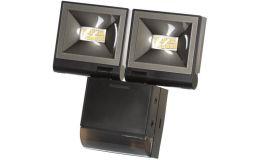 Timeguard 2x 10W LED Compact PIR Floodlight Twin Flood Black