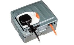 Timeguard Weathersafe Extreme Twin Gang 13A Switched Socket