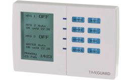 Timeguard 7 Day Electronic Programmer - 4 Channels