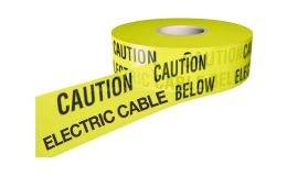 Underground Cable Warning Tape Sold per 1 roll of 365m
