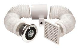 Vent Axia Vent-A-Light Shower fan & Lights 100mm