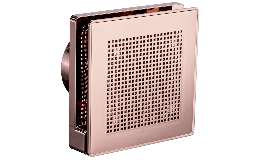 """Vortice Punto Evo Rose Gold Extractor Fan 100mm 4"""""""