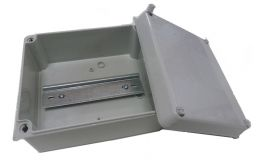 Wiska Surface Sealed Adaptable Box with Din Rail IP65