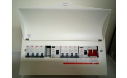 Wylex 10 Way Populated Consumer Unit with 8 MCBs