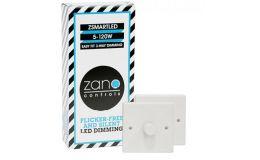 Zano Controls ZSMART LED Multi-way Dimming 2 and 3 Plate Packs