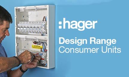 Hager Design 10 Consumer Units