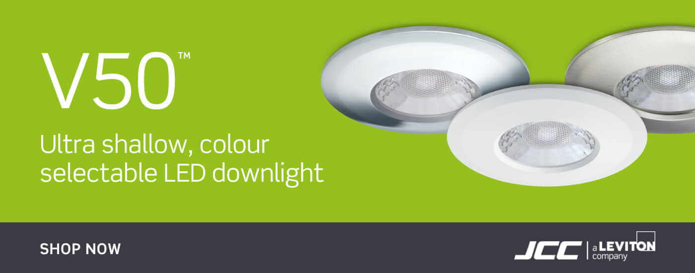 JCC V50 Colour Selectable LED Downlights